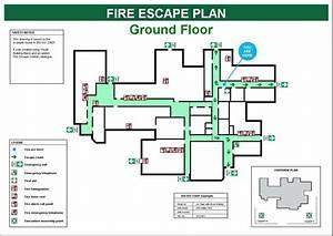 Diagram  Fire Escape Plan Diagram