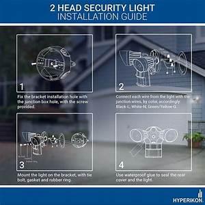 Wire Motion Sensor Light Wiring Diagram
