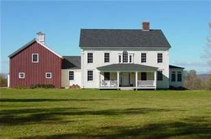 colonial farmhouse plans need pix of house w attached barn