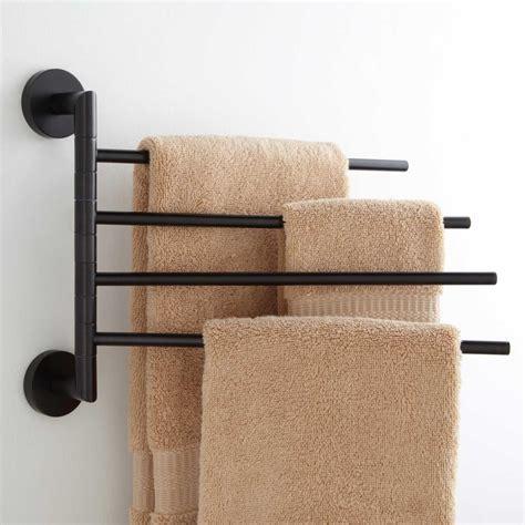 Colvin Quadruple Swing Arm Towel Bar   Bathroom