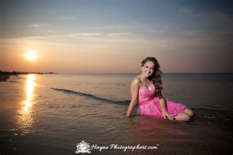 virginia beach senior portraits trash  dress hayne