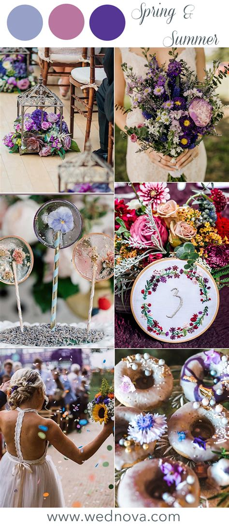 12 Wedding Color Palettes That Are Perfect For Spring