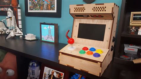 Diy Mame Cabinet Kit by Tested Builds Diy Arcade Cabinet Kit