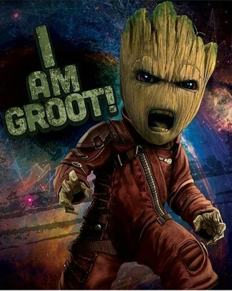 Gardens Of The Galaxy by Wallpaper Of Baby Groot 9gag