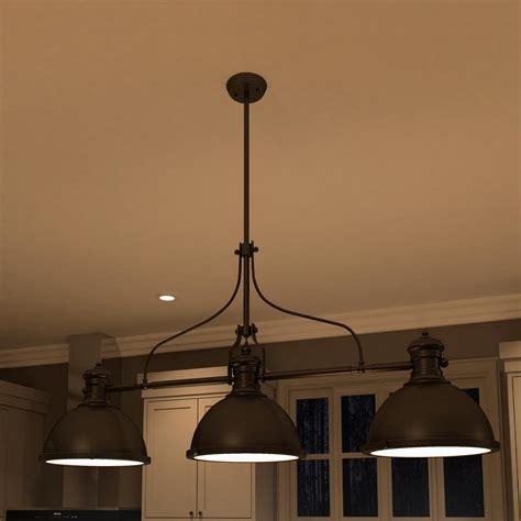 kitchen island pendant light fixtures vonnlighting dorado 3 light kitchen island pendant