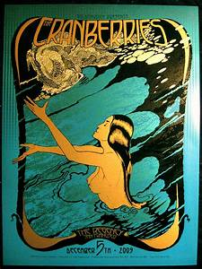 Chuck Sperry's The Cranberries poster | Posters ...