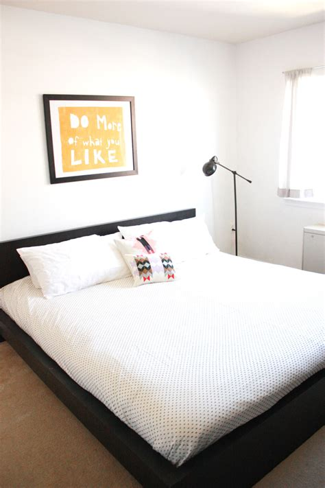 Simple Master Bedroom Makeover  One Litte Minute