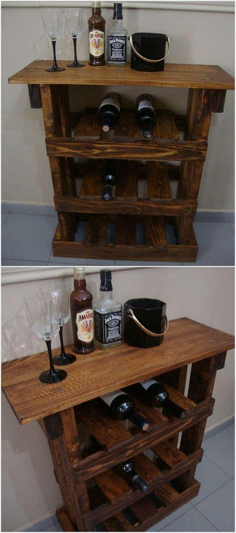 wood pallet wine rack creative diy ideas to reuse wooden pallets pallet wood