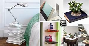 Idee Deco Avec Des Photos : d co avec des livres voici 28 id es cr atives ~ Zukunftsfamilie.com Idées de Décoration