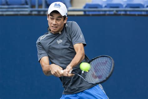 mackie mcdonald beats top  ranked opponent  sacramento challenger daily bruin