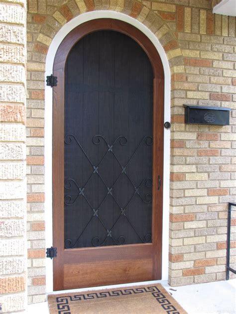 pin  adam  brownstone design wooden screen door