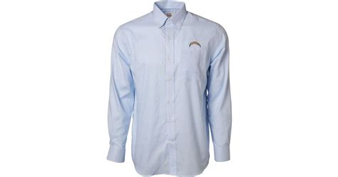 Cutter & Buck Men's San Diego Chargers Tattersall Dress