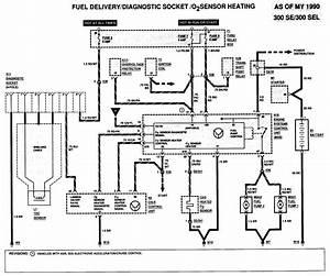 1991 300sel Fuel Pump Problem  Replaced Maf Relay Unit