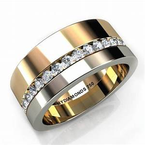 mens wide band wedding rings wedding promise diamond With mens wide band wedding rings