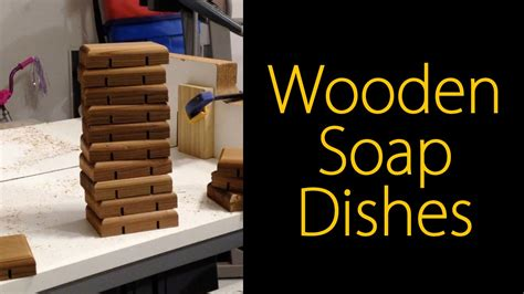 diy christmas project wooden soap dishes cmrw youtube