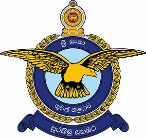 File:Sri Lanka Air Force Emblem.png - Wikimedia Commons