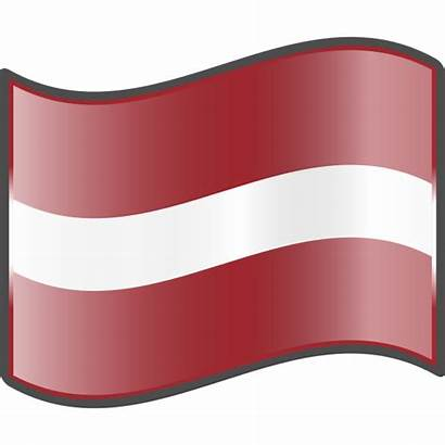 Flag Latvian Svg Nuvola Commons Wikimedia Project