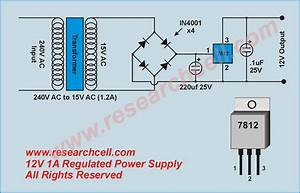 Voltage Regulator Circuit  U00bb Research Cell