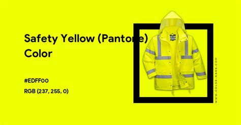 We did not find results for: Safety Yellow (Pantone) color hex code is #EDFF00