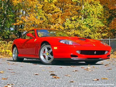 This lovely ferrari 550 maranello was supplied from new by the swiss lausanne. 1999 Ferrari 550 Maranello - Sold in Hudson, MA   Hatch Motors, LLC