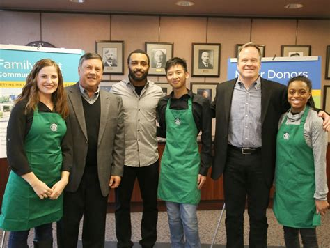 starbucks joins doug baldwin  support youth  families