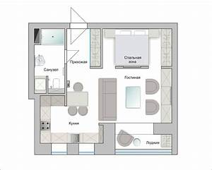 Apartment, Design, For, Young, Man, U0026, Woman