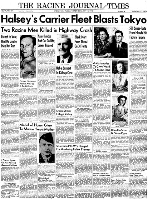 MaritimeQuest - Empire Javelin (1944) Front Pages