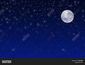 Night Sky Full Moon And Stars | www.pixshark.com - Images ...