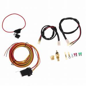 Easy Install Electric Cooling Fan Wiring 185  165