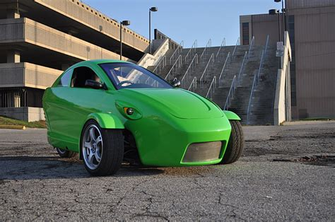 The Three-wheeled Elio Is Said To Achieve 84 Mpg Highway