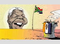 Here's Mandela's story, told through political cartoons