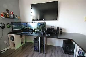 Cool Computer Setups And Gaming Gamer Setup ~ idolza
