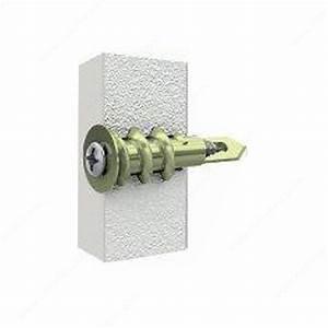 Cheville Mur Creux : cheville de nylon autoforeuse pour gypse attaches reliable ~ Premium-room.com Idées de Décoration