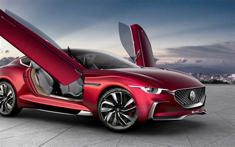 wallpaper mg  motion concept cars electric cars
