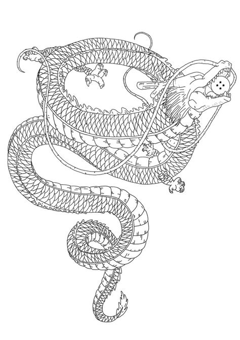 Shenron Tattoos Designs, Ideas and Meaning | Tattoos For You