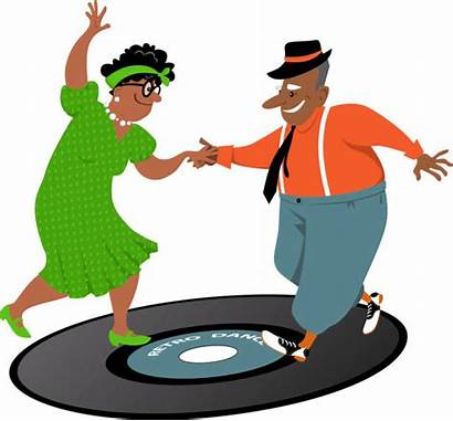 Senior Dancing Clip Fun Boomers Having Couple