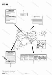 Suzuki Motorcycle 2005 Oem Parts Diagram For Label