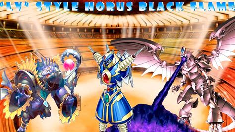horus the black deck deck lv style3 horus the black ygopro