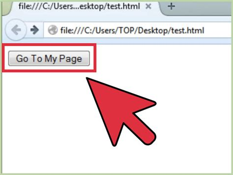 How Make Html Link Button Steps With Pictures