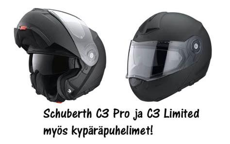 schuberth c3 limited schuberth c3 pro ja c3 limited meilt 228 edullisesti