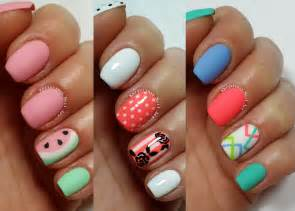 Easy nail art designs for short nails freehand