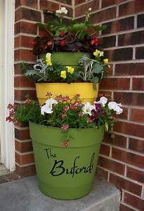 tiered planter ideas that you can easily make with clay