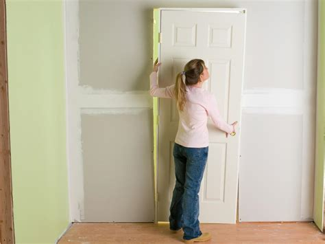 install interior pre hung doors  tos diy