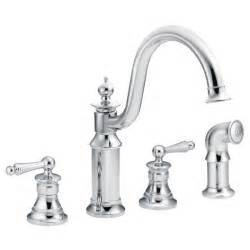 moen kitchen faucet installation waterhill chrome two handle high arc kitchen faucet s712 moen