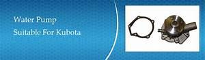 Kubota D850 Water Pump Parts For Sale