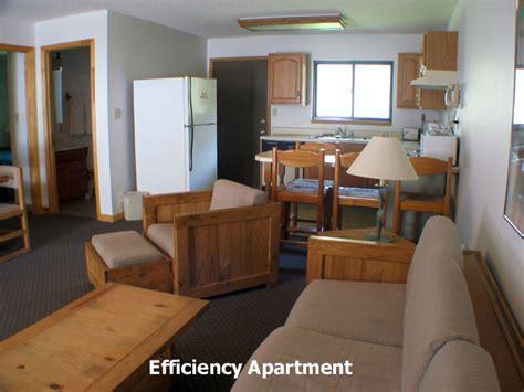 seasons lodge efficiency apartment