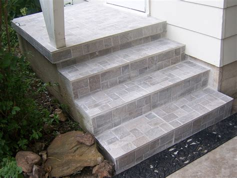 family tree how to update exterior concrete steps