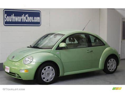 volkswagen green 2000 green volkswagen new beetle gls coupe 20614374 photo