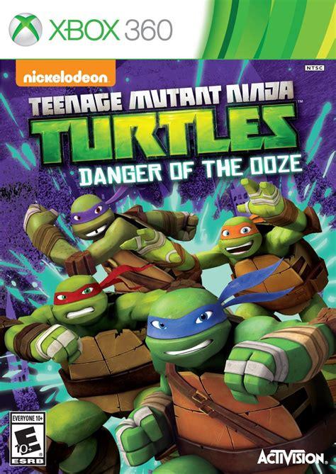 teenage mutant ninja turtles danger   ooze xbox  game