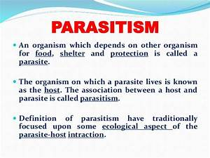 Type of parasite & host